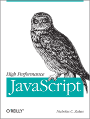 Book cover: High Performance JavaScript